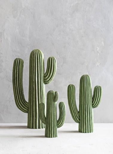 Kaktüs Dekoratif Obje-Warm Design